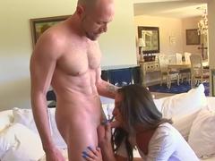 Incredible pornstar Delilah Davis in best blowjob, cumshots porn clip