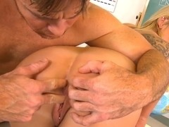 Amazing Aiden Aspen enjoys doing Justin Magnum's