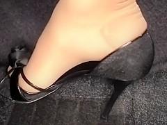 Wonderful full gas pumping with my casadei high heels