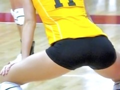 Hidden camera spy recorded female voleyball players