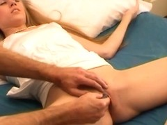 HandsOnOrgasms Video: Michelle Moist Pink Panties