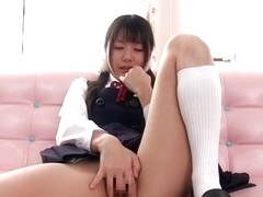 Hottest Japanese chick Tsubomi in Amazing JAV censored POV, Solo Girl scene