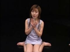 Kokoro Amano drinks a bottle of goo