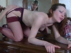 LickNylons Video: Ambrose A and Florence A