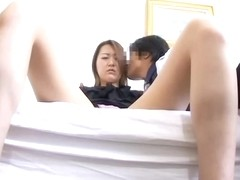 Asian slut is drilled until climax in the medical clinic