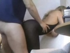 Hawt office whore mother I'd like to fuck wife wearing body stocking