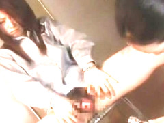 Fabulous Japanese girl Tsubaki Katou, Nana Saeki, Yuka Osawa in Incredible Lesbian/Rezubian, Gangb.