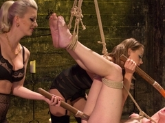 Best fetish, lesbian xxx video with crazy pornstars Veruca James, Cherry Torn and Chanel Preston f.