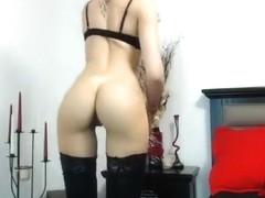 Beautiful webcam babe Perfectass posing nude