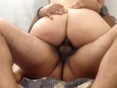 The gf goes for a ride on my dick