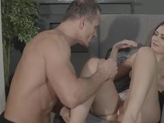 Horny pornstars Anina Silk, George in Best MILF, Small Tits xxx clip
