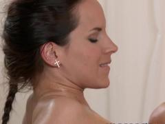 Crazy pornstar in Horny Massage, College porn movie