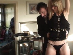 Bound dutch submissive