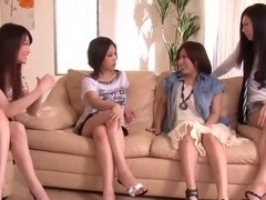 Japanese Penis Shared by Group of Horny Women 1