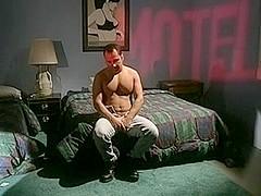 Horny hunks in vintage gay sex scene
