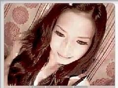 Amateur Asian TS strip