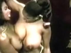 Ebony catfight