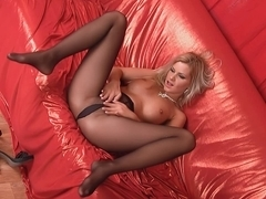 hot hose feet on the daybed