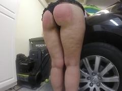 POV Ass Spanking Anal Creampie