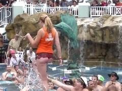 nudist swinger pool party key west
