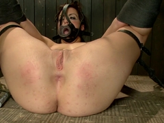 Bryn Blayne gets a smack-down into submission - Live Show Part 2