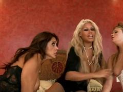Bridgette B and Francesca Le are having some lesbian hardcore sex and fun