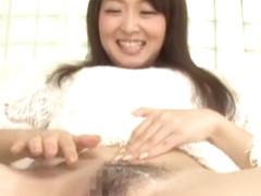 Hottest Japanese chick Shizuka Minamoto in Exotic Close-up, Handjobs JAV video