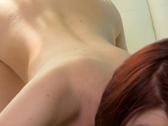 Horny pornstar Alana Rains in Hottest Blowjob, POV xxx movie
