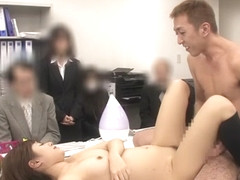 Rina Rukawa in AV at Your Workplace part 1