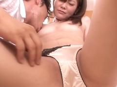 Horny Japanese chick Kanan Mizuki in Exotic JAV censored Fingering, Blowjob scene