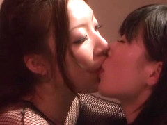 Amazing Japanese girl in Crazy JAV censored Small Tits, Threesomes clip