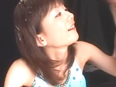 Incredible Japanese girl Anna Watase in Crazy Gangbang, Bikini JAV scene