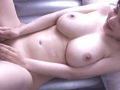 Amazing Japanese chick Anri Okita in Crazy JAV censored Bathroom, Hairy clip