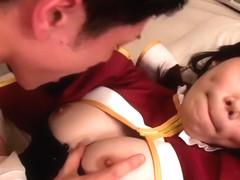 Fabulous Japanese girl Honami Uehara in Hottest JAV censored Hardcore, Hairy video