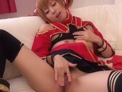 Horny Japanese model Yuki Jin in Exotic JAV censored Cunnilingus, Hairy scene