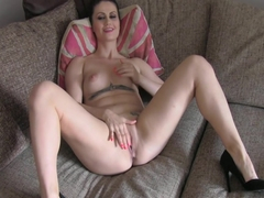 Tattooed babe assfucked on casting