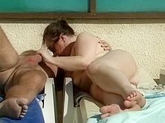 Nudist joy in the sun