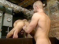 Hot gay parking place is fingered kinky until climax