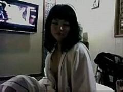 korean amateur in hotel