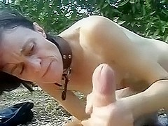 Freaky oral sex from my immoral aged fuck buddy outdoors