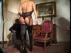 Mature blonde TS slut