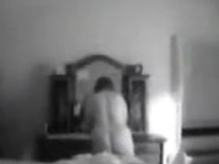Bedroom cam shows her putting on clothes