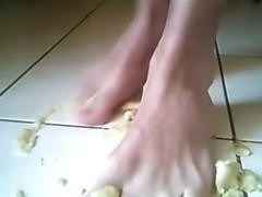 banana feet!!!!!!!!!!!