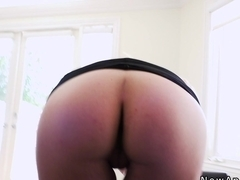 Future boss anal fucks blonde hottie