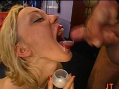 Best pornstar Annette Schwarz in Fabulous Cumshots, Bukkake porn clip