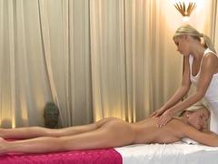 Fabulous pornstar in Incredible Lesbian, Massage adult movie