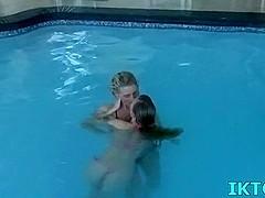 Pool three-some