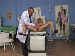 slender milf get fucked by her doctor