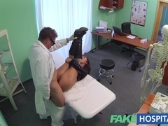sexual treatment turns gorgeous busty patients moans of pain into pleasure
