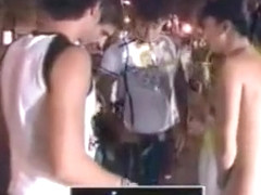 Public nudity game show with Japanese girls